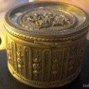 Antigüedades: PRECIOSA CAJA MUSICAL EN BRONCE. Lote 57563482