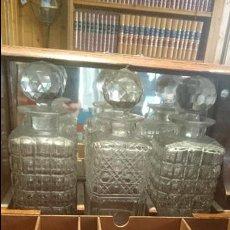 Antigüedades: IMPRESIONANTE TANTALO LUJO ROBLE Y CRISTAL BACCARAT A MANO S. XIX 2600,00 € MUSEO. Lote 57578740