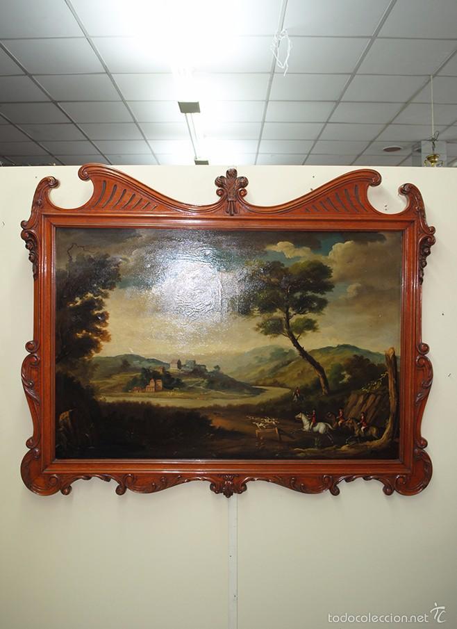 cuadro con marco de madera estilo modernista - Comprar Marcos ...