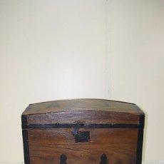 Antigüedades: BAÚL ANTIGUO DE MADERA. Lote 57589665
