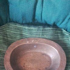 Antigüedades: PALANGANA DE BRONCE DE 33×25×5. Lote 57591531