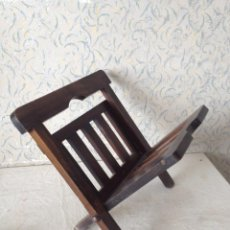 Antiquités: REVISTERO MADERA PLEGABLE. Lote 57609440