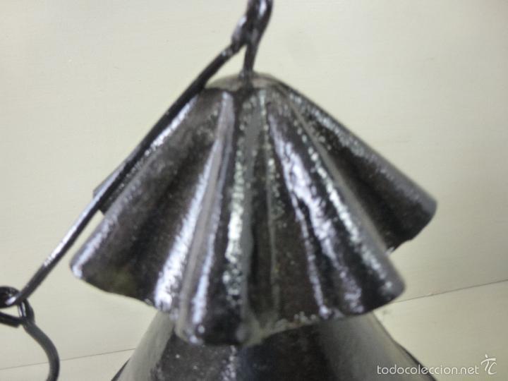 Antigüedades: Fanal, farol, luz para procesiones, Hierro forjado. - Foto 7 - 57610197