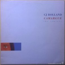 Discos de vinilo: CJ BOLLAND-CAMARGUE (THE REMIXES), R & S RECORDS-RS 93022. Lote 140011338