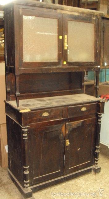 Alacena para restaurar comprar muebles auxiliares for Antiguedades para restaurar