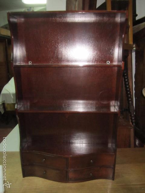 estantería de madera para colgar, tipo inglés, - Comprar Muebles ...