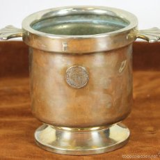 Antigüedades: CUBITERA EN METAL PLATEADO. SELLO DE FELIPE III. 1598-1621. CIRCA 1960. . Lote 57643618
