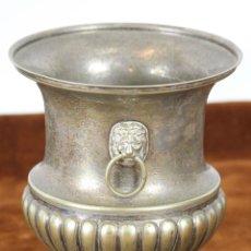 Antigüedades: CUBITERA EN ALPACA PLATEADA. CIRCA 1960. . Lote 57644653