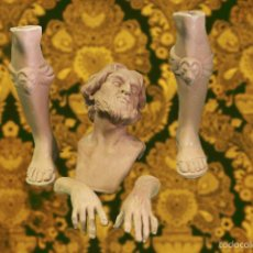 Antigüedades: PIEZAS PARA MONTAR REY GASPAR PARA BELEN NAPOLITANO 35 CTM. Lote 76685922
