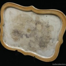 Antigüedades: ANTIGÜA BANDEJA EN CERAMICA MADE IN ENGLAND. Lote 57651790