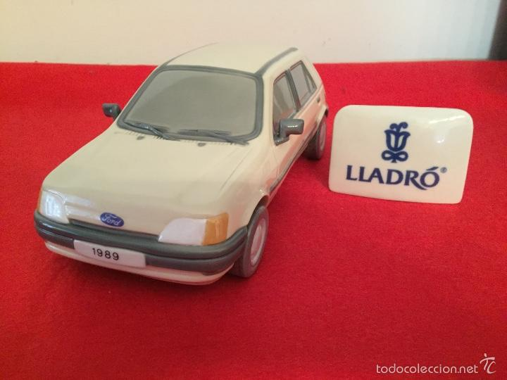 Antigüedades: Precioso coche Ford 1989 de porcelana lladro en perfecto estado ideal coleccionistas - Foto 2 - 57664002