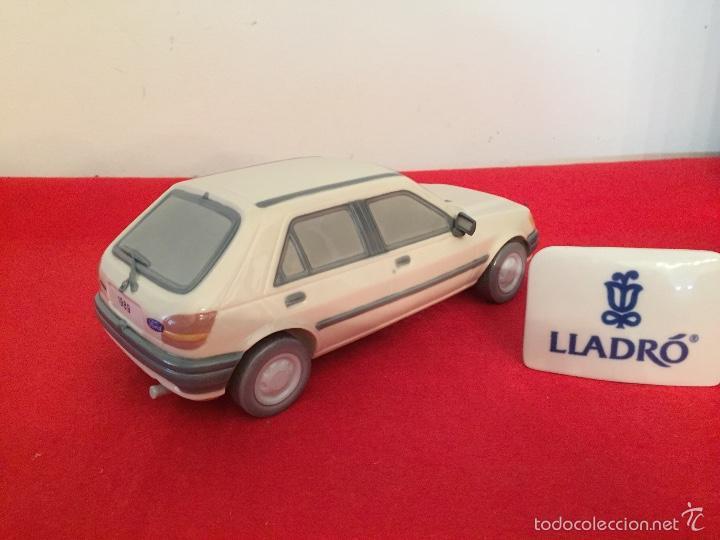 Antigüedades: Precioso coche Ford 1989 de porcelana lladro en perfecto estado ideal coleccionistas - Foto 4 - 57664002