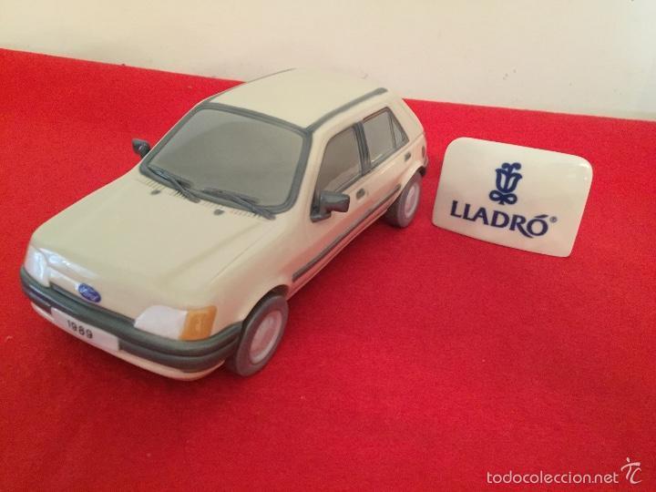 Antigüedades: Precioso coche Ford 1989 de porcelana lladro en perfecto estado ideal coleccionistas - Foto 5 - 57664002