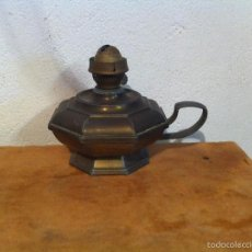 Antigüedades: ANTIGUO QUINQUÉ METALICO. Lote 57667365