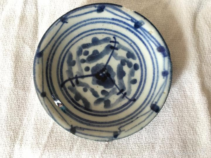 Antigüedades: Trio de pequeños platos V.O.C de reprodución. 3 repro V.O.C. plates - Foto 3 - 57710677