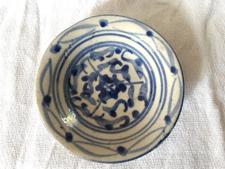 Antigüedades: Trio de pequeños platos V.O.C de reprodución. 3 repro V.O.C. plates - Foto 4 - 57710677