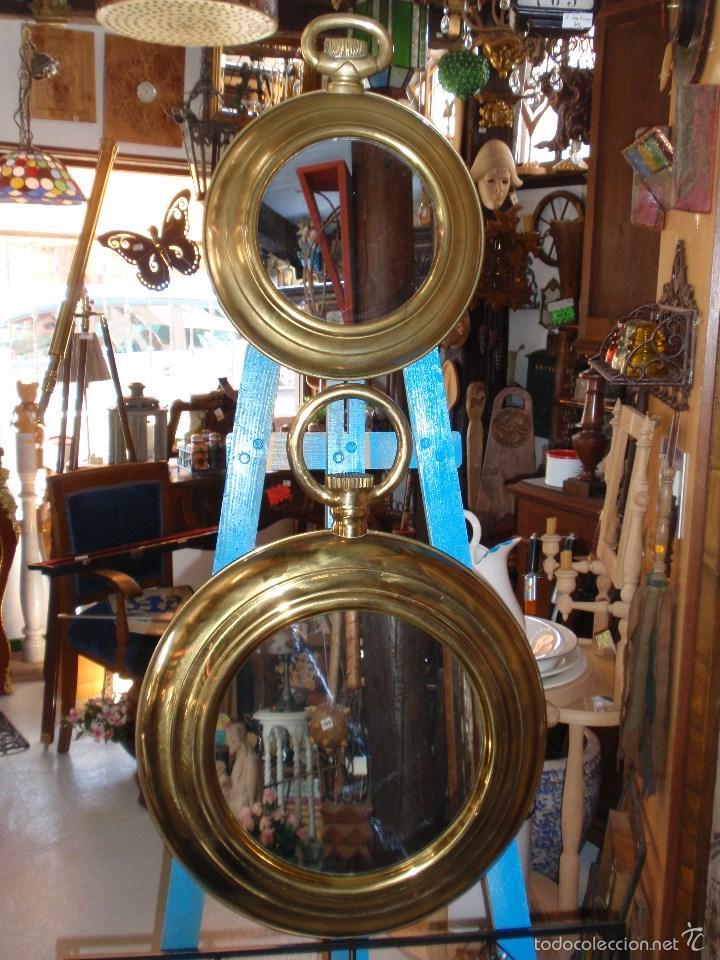 pareja de marcos de latón, forma de reloj de bo - Comprar Marcos ...