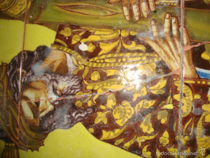 Antigüedades: Retablo ceramico azulejos (Gran poder) - Foto 5 - 57716741