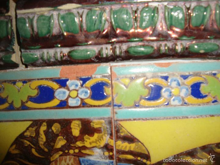 Antigüedades: Retablo ceramico azulejos (Gran poder) - Foto 6 - 57716741