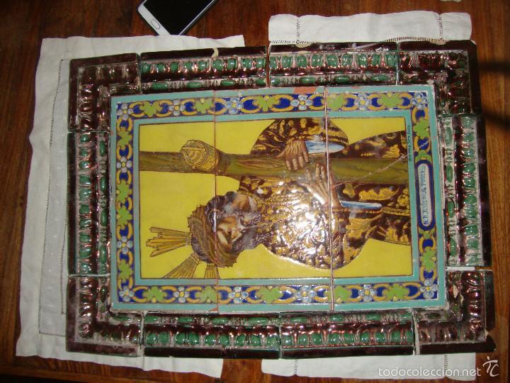 Antigüedades: Retablo ceramico azulejos (Gran poder) - Foto 7 - 57716741