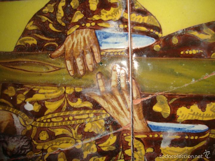Antigüedades: Retablo ceramico azulejos (Gran poder) - Foto 10 - 57716741