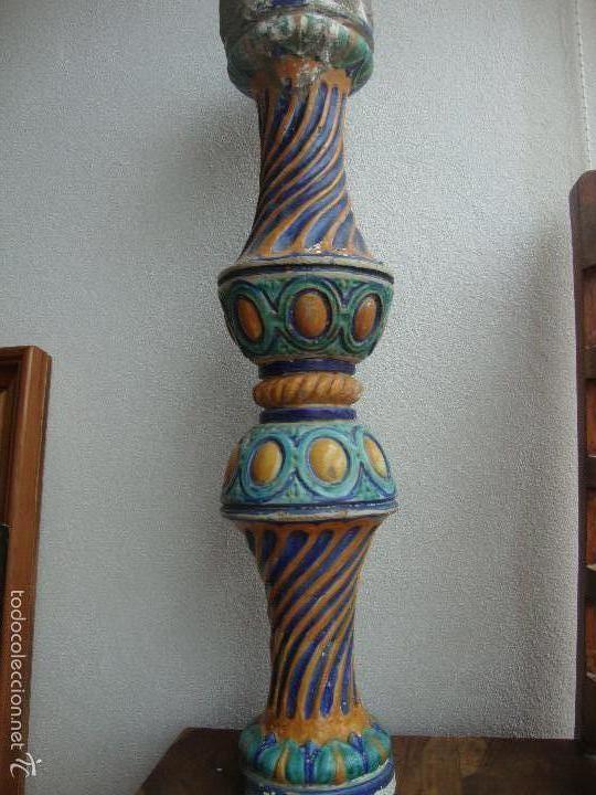 COLUMNA CERAMICA TRIANA (Antigüedades - Porcelanas y Cerámicas - Triana)