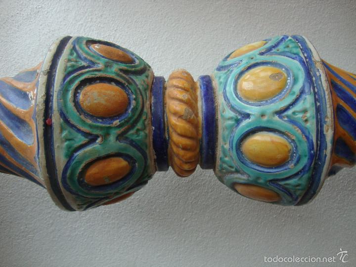 Antigüedades: Columna ceramica Triana - Foto 2 - 57716858