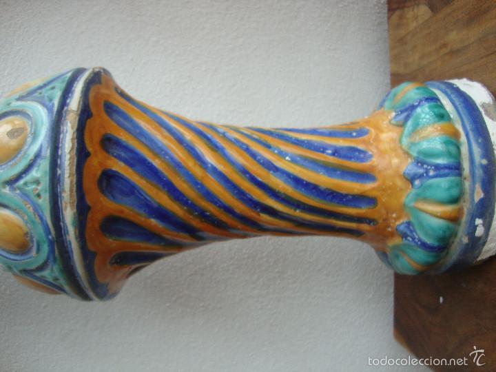 Antigüedades: Columna ceramica Triana - Foto 3 - 57716858