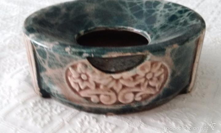 Antigüedades: Antigua escupidera modernista - Art Deco - Foto 2 - 57724929