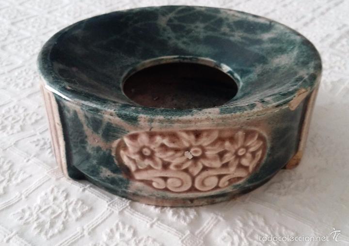 Antigüedades: Antigua escupidera modernista - Art Deco - Foto 3 - 57724929