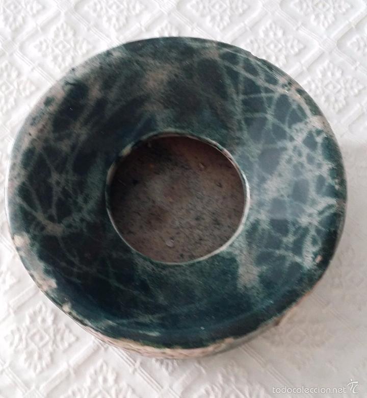 Antigüedades: Antigua escupidera modernista - Art Deco - Foto 4 - 57724929