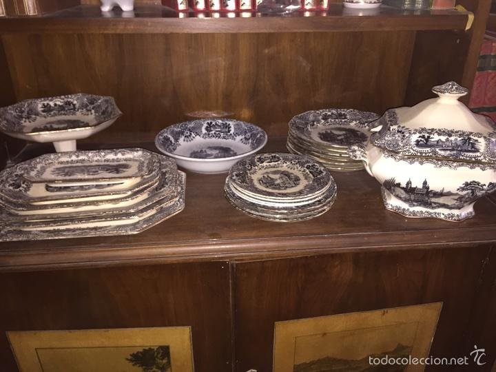 VAJILLA DE LA CARTUJA DE SEVILLA (Antigüedades - Porcelanas y Cerámicas - La Cartuja Pickman)
