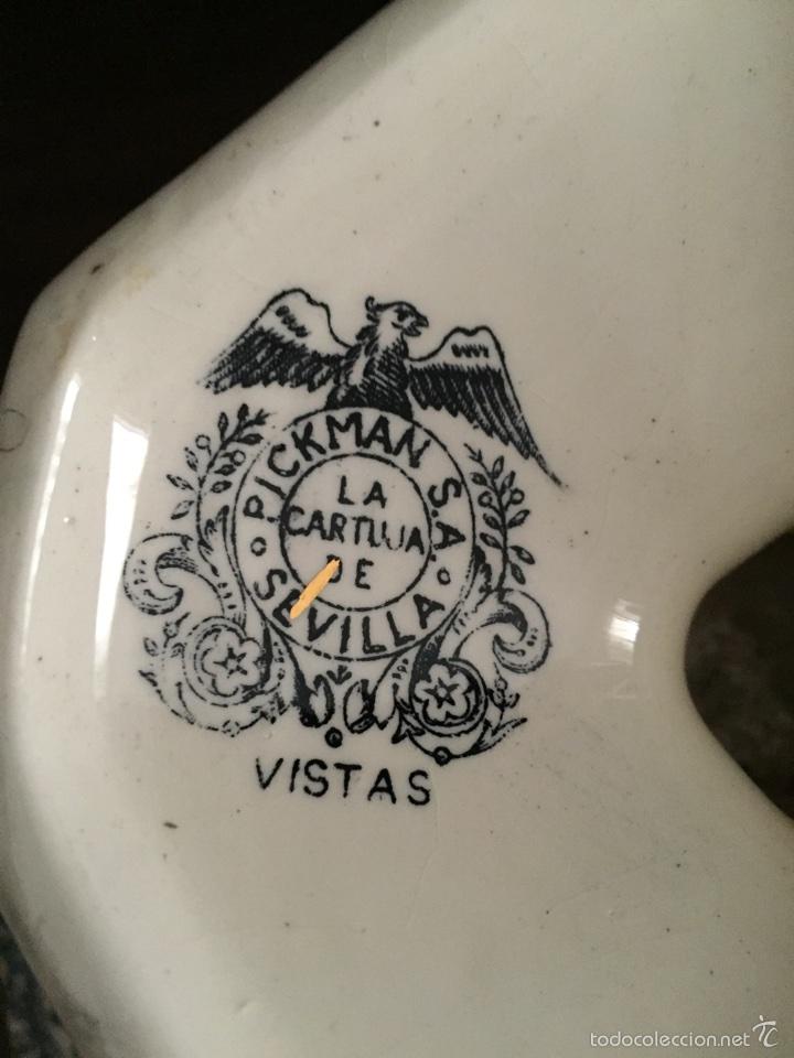 Antigüedades: Vajilla de la cartuja de Sevilla - Foto 2 - 57730068