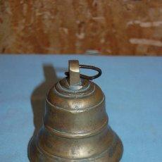 Antigüedades: ANTIGUA CAMPANA EN BRONCE. Lote 57743998