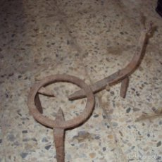 Antigüedades: TRÉBEDE DE FORJA. Lote 57747504