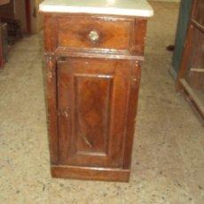 Antigüedades: MESILLA DE MADERA ALFONSINA. Lote 57762084