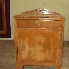 Antigüedades: MESILLA DE MADERA. Lote 57762275