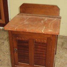 Antigüedades: MESILLA DE MADERA FINAL ART DECO. Lote 57762814