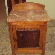Antigüedades: MESILLA DE MADERA FINAL ART DECO. Lote 57762843