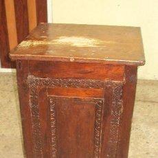 Antigüedades: MESILLA DE MADERA MODERNISTA CIRCA 1900. Lote 223275571