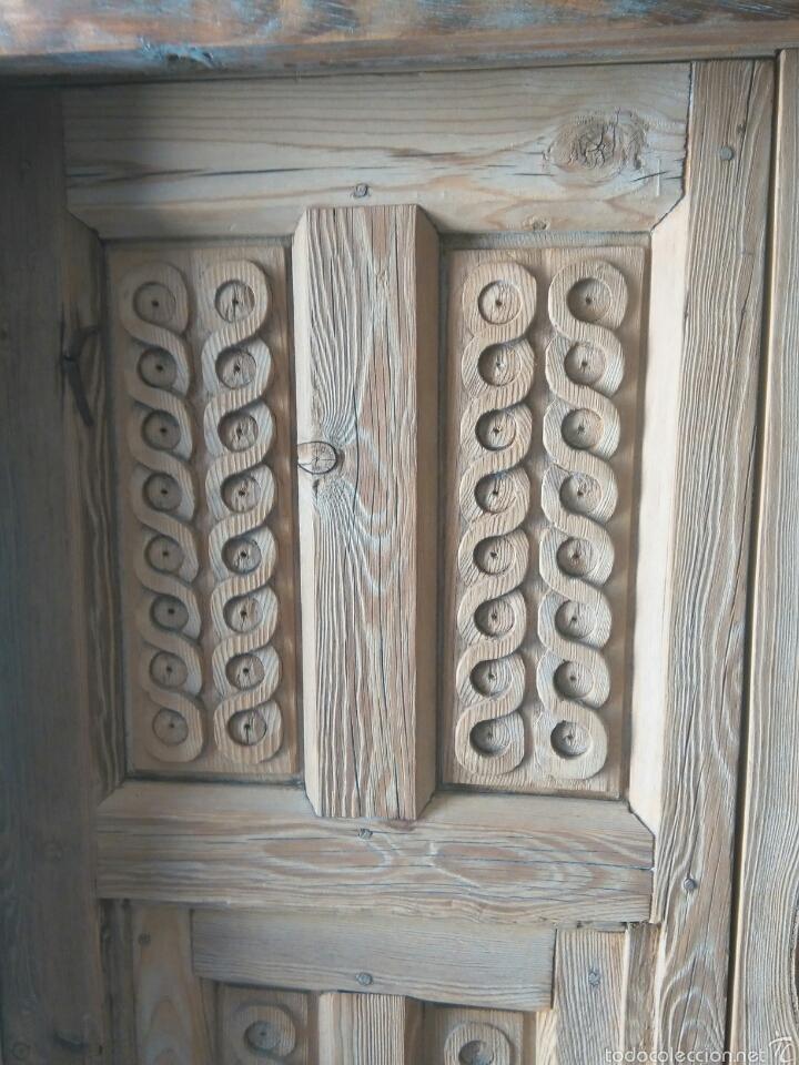 Antigüedades: 2 Parejas Ventanas de madera 2 juegos - Foto 2 - 57790813