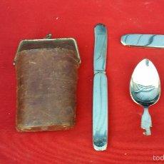 Antigüedades: CUBIERTOS ANTIGUO DE CAMPIS. Lote 57792961