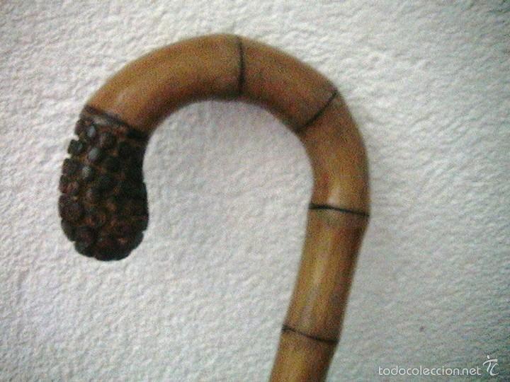 Antigüedades: paraguas antiguo bambu inglés sombrilla - Foto 5 - 57800626