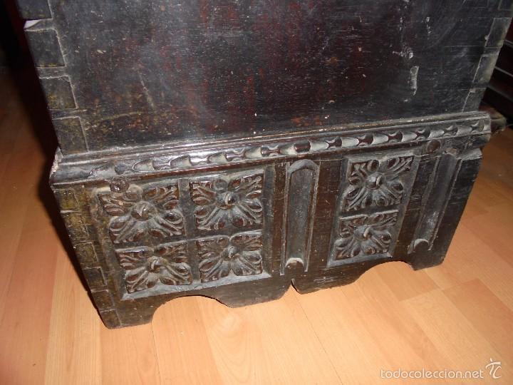 ARCON DE NOGAL. (Antigüedades - Muebles Antiguos - Baúles Antiguos)