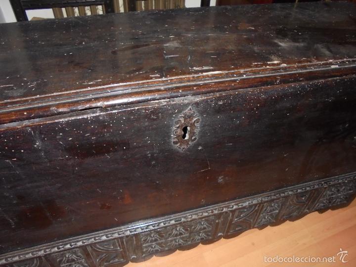 Antigüedades: ARCON DE NOGAL. - Foto 12 - 57813194