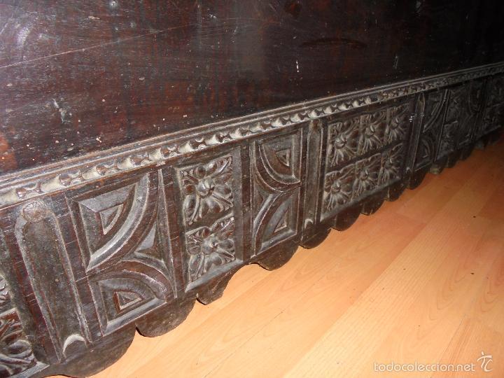 Antigüedades: ARCON DE NOGAL. - Foto 13 - 57813194