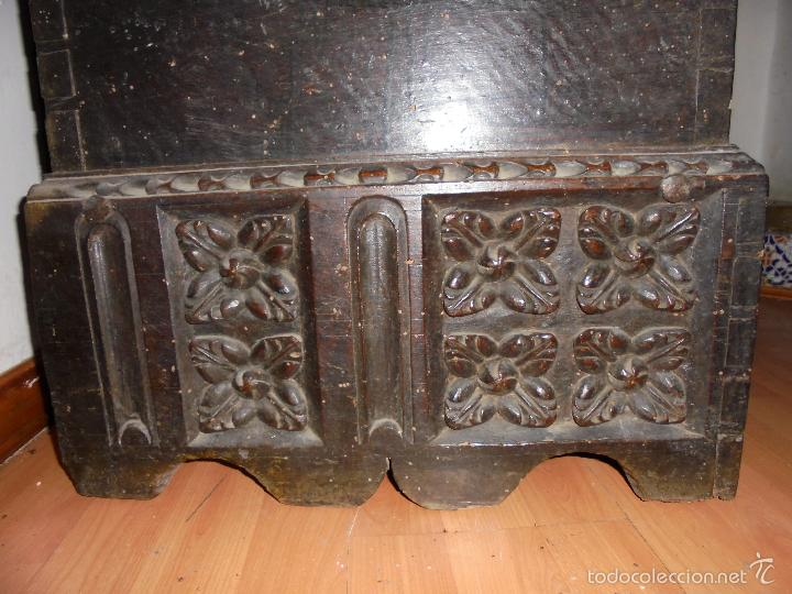 Antigüedades: ARCON DE NOGAL. - Foto 16 - 57813194
