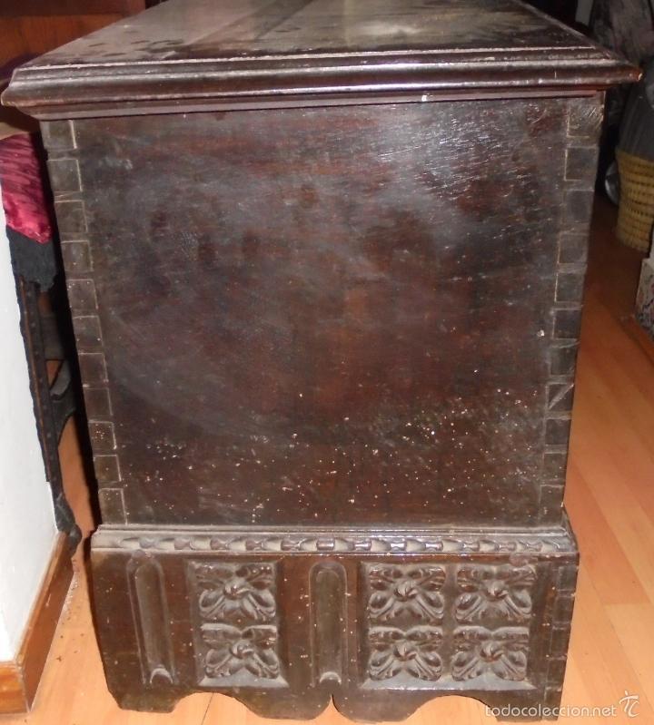Antigüedades: ARCON DE NOGAL. - Foto 17 - 57813194