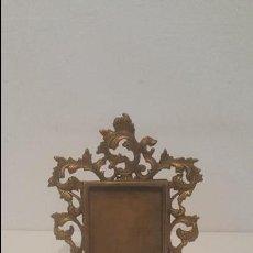 Antigüedades: PORTAFOTOS BRONCE. Lote 141218652