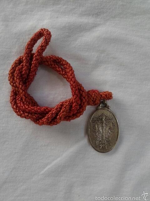 Antigüedades: MEDALLA HERMANDAD DE LA SANTA CRUZ DE EL ALAMO, SEVILLA - Foto 5 - 72301051